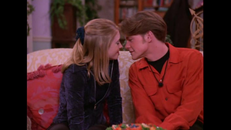 Sabrina, The Teenage Witch / Сабрина — маленькая ведьма english Season 1 17. First Kiss