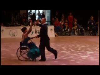 АСН - участие тюменских танцоров-колясочников в международных стартах