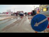 В Волжском скоро появится пятый Островок безопасности. Видео с места работы
