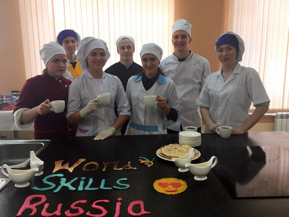 Студенты Мичуринского многопрофильного техникума - призеры конкурса Блинчеллендж