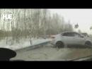 На трассе Тюмень Ханты Мансийск самосвал выскочил на встречку