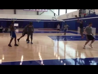 Some highlights of Malik Monks workout with the Philadelphia 76ers