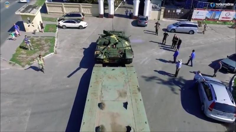 Бойовий танк Т-72А став ще більш захищеним та ефективним.