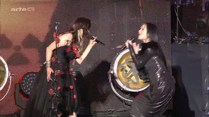 Within Temptation feat Tarja - Paradise ('16 Hellfest)