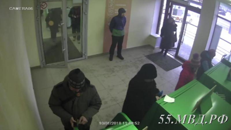 Студенты помогли сотрудникам полиции задержать грабителя. Омск