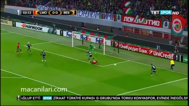 UEFA 2015 2016 Sezonu H Grup 1 1 Beşiktaş
