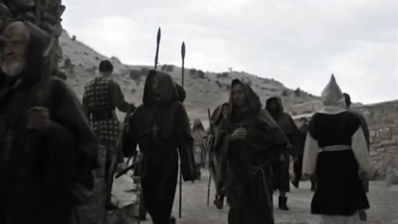 Фрагмент из фильма Сын ворона с участием артистов Эндорфин