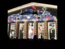 Огненные шоу 3D мэппинг на здании Биржи Фестиваль огня
