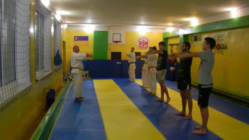 Вчора, 9 січня, розпочалися заняття, пісдя новорічної перерви, розпочалися заняття в СК Будокан