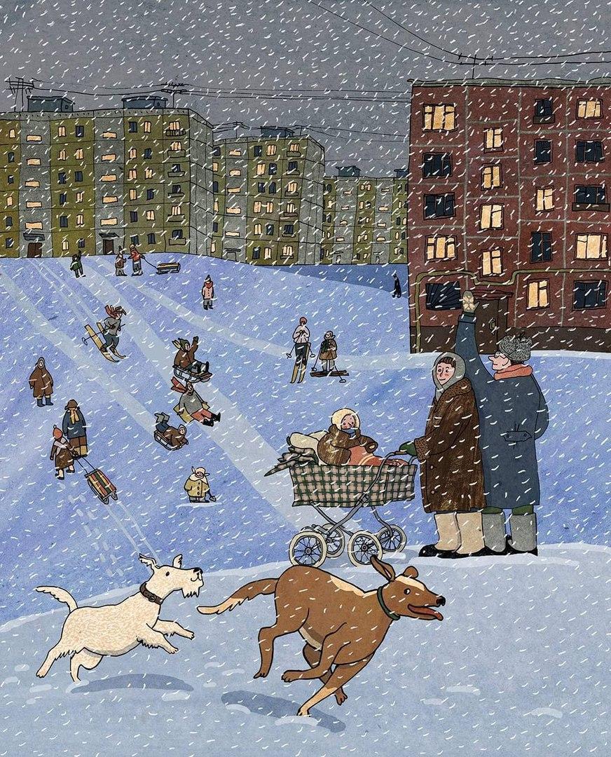 Уютно-зимнее от Ани Десницкой