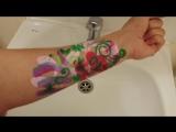 Видео-инструкция как правильно смывать аквагрим!!! Рекомендовано к просмотру Всем моим любимым заказчикам!