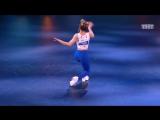 Шоу Танцы. Алена Двойченкова