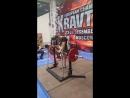 Четвертый Чемпионат Европы АСМ ,, Витязь Пауэр-спорт 3- подход 75 кг строгий подъем на бицепс