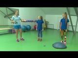 Ксения Ролдугина. Как сделать спорт интересным для детей? Выпуск 2. ( Дата эфира 21.10.2017 г)