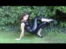 Olivia - Black Latex Top