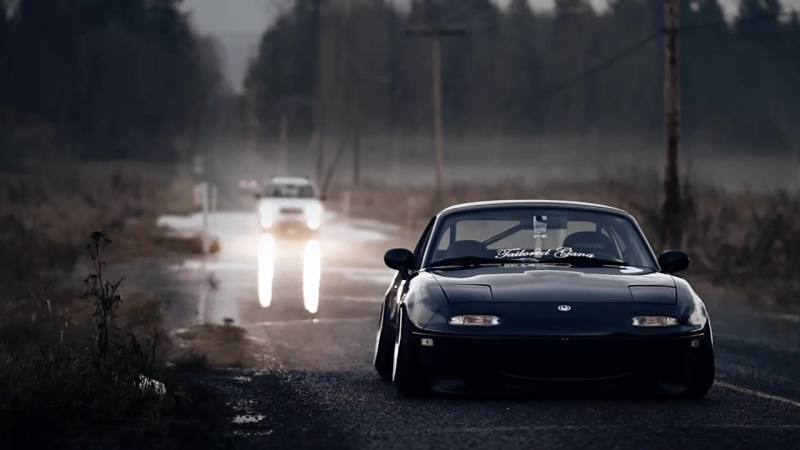 Frame Bangin Miata   Stance   vk.com/stance_car1