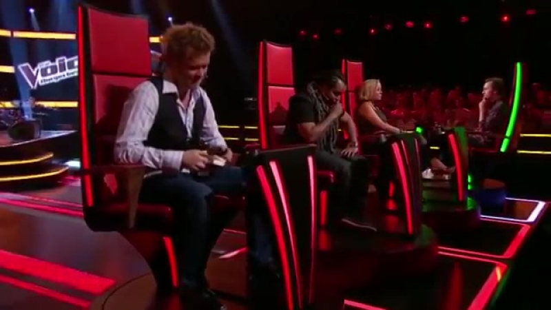 Andrew Hill Two Blind Audition The Voice Norway 2012(1)