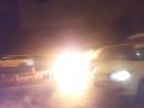 Горит машина на Киевском шоссе