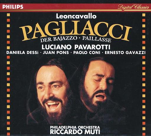 Luciano Pavarotti альбом Leoncavallo: I Pagliacci (Live, 1992)