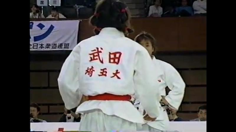 -52 A.Takeda vs M.Yabushita 1995 All Japan Judo