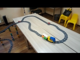 Железная дорога из Lego Duplo