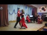 Танго-вечер в школе искусств. Карлос Гардель танго из кф