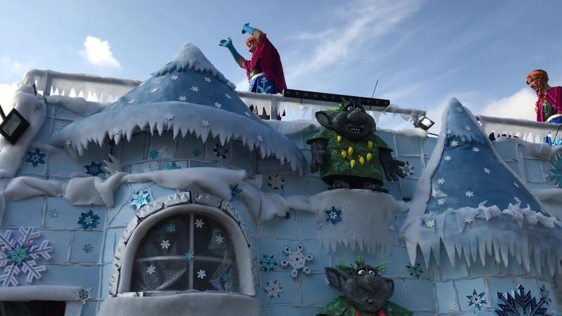 Карнавал на Тенерие 2018 - платформа Frozen