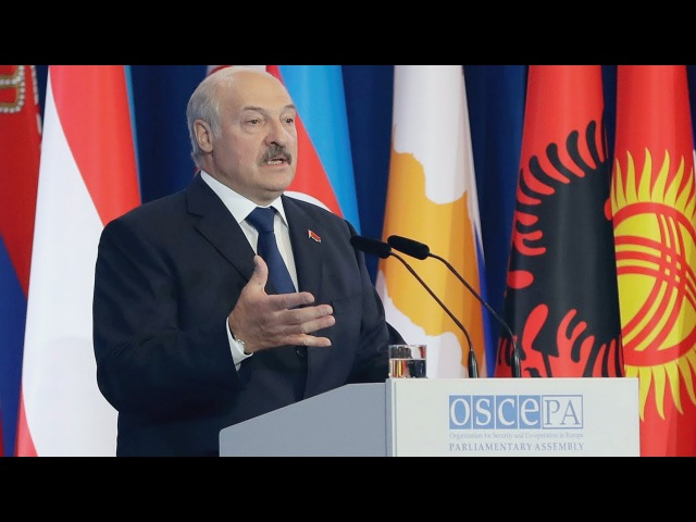 На сесіі АБСЕ ў Менску раскрытыкавалі палітыку Лукашэнкі | Сессия ОБСЕ в Минске <Белсат>