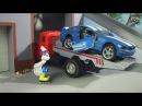 Мультик про машинки. Трактор, пикап и паровоз. МанкиМульт