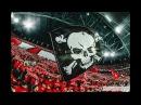 Красно-белая трибуна на матче Спартак Москва - Севилья 17.10.17 г.