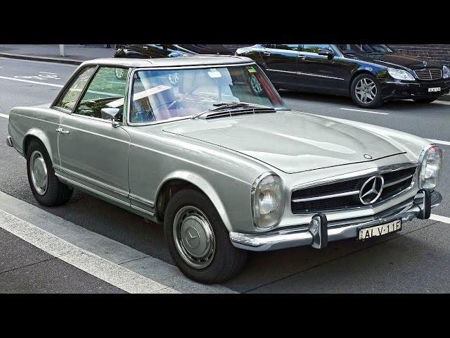 Топ Гир обзор Mercedes 280SL