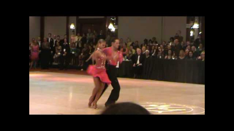 Pasha Pashkov and Daniella Karagach Cha Cha Solo US Adult Latin National Championship 2009