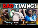 CS:GO - TIMING IS EVERYTHING!! (Funny Moments, Fails!)