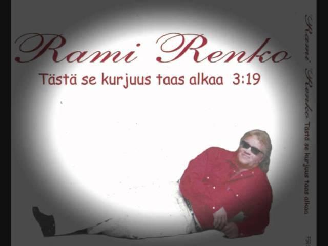 Rami Renko -tästä se kurjuus taas alkaa