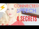 The 4 Secrets to Speaking Quickly Fluently - CONNECTED SPEECH spon
