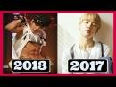 BTS (방탄소년단) PARK JIMIN EVOLUTION (2013 - 2017) [NO MORE DREAM - DNA]