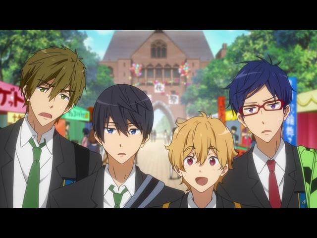 Вольный стиль! Всплеск! Вечное Лето (спешл) / Free! Eternal Summer OVA