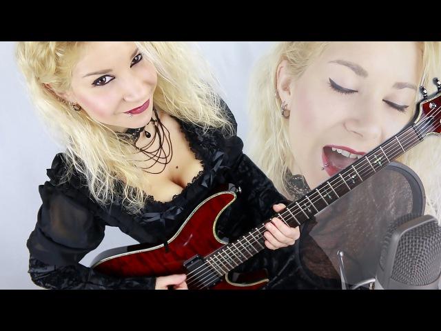 Nightwish - Sleeping Sun Vocal Guitar Cover w/ Solo by Federica Putti