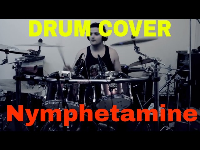 Cradle of Filth (feat. Liv Kristine) - Nymphetamine Fix (Acoustic Drums Cover by Raghav Sehgal).