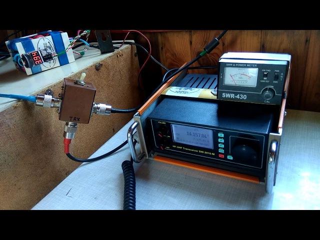 Радиосвязь на КВ. Сравнение антенны Луч 21м и антенны QM7005 (копия)