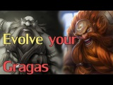 Gragas Combo Tutorial &amp TIPS! (R into Q and other Combos)