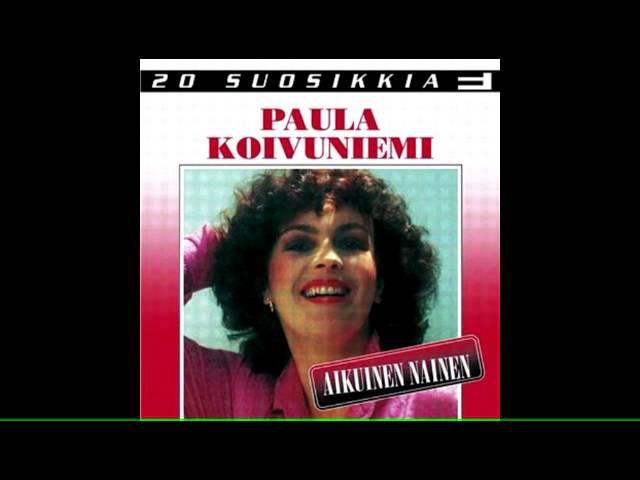 Paula Koivuniemi - Aikuinen Nainen (ilman laulua, karaokeversio)