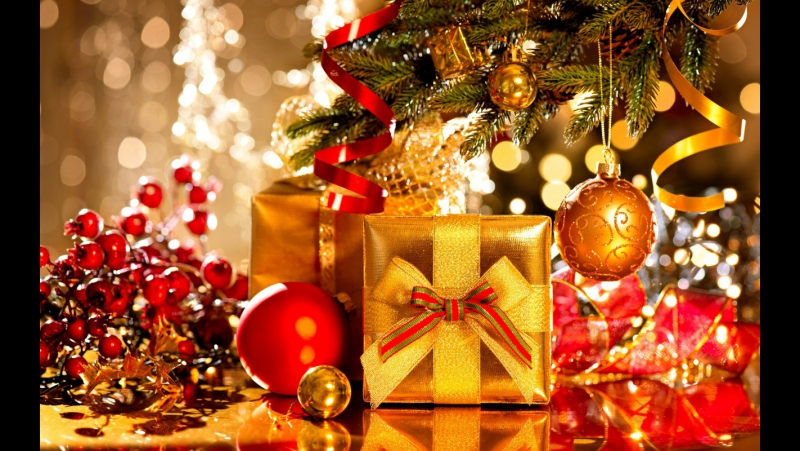 Видеопоздравление с Новым Годом для клиентов салона Аура