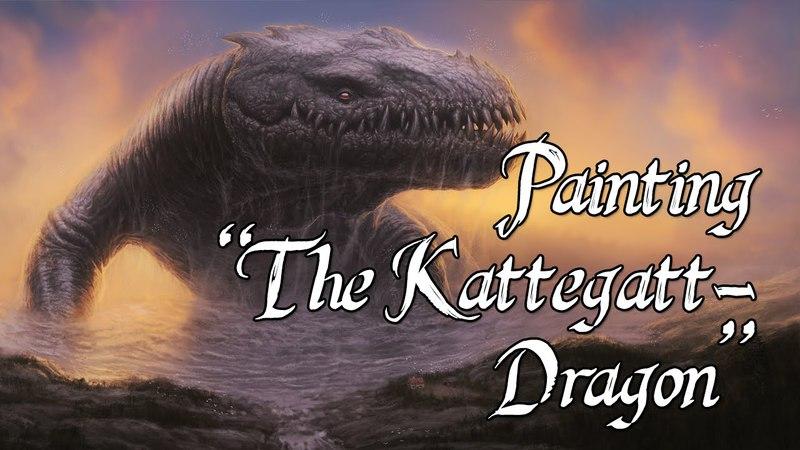 Speedpainting - The Kattegat-Dragon
