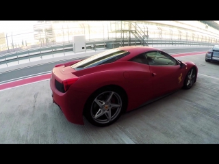 Тестируем мечту. Ferrari 458.
