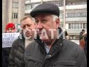 Друг за друга - жители поселка Дружный вышли на митинг поддержки за сантехника, осужденного за нападение на полицейского