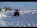 привезли новый трактор