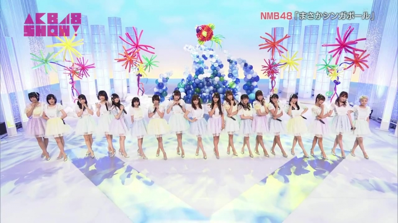 Masaka Singapore AKB48 SHOW ep 161 от 22/07/2017