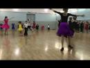 Кусочек пятничного прогона по спортивным бальным танцам 💃 Записывайтесь в группы кцслава