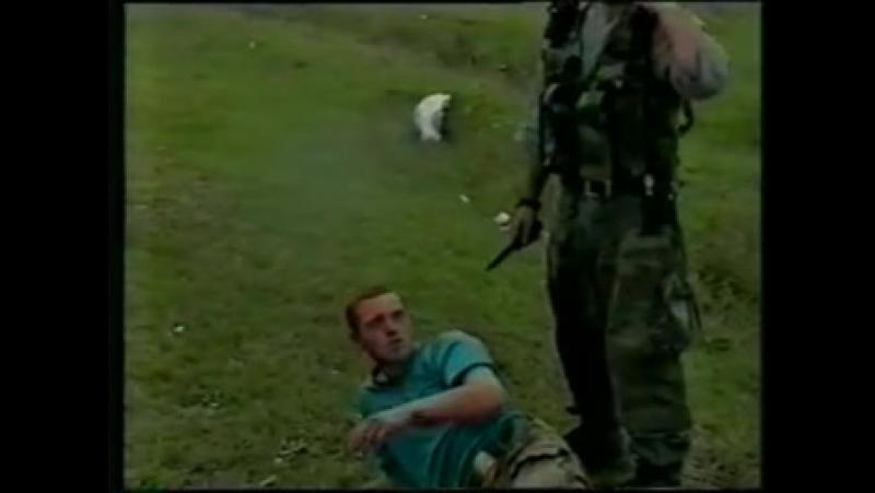 Чечня Режут Солдат